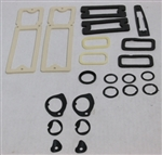 1968 - 1969 Nova Exterior Gaskets Set, Paint and Light Lenses