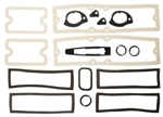 1971 - 1972 Nova Exterior Gaskets Set, Paint and Light Lenses