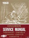 1968 Chevelle Service Manual, Chassis