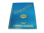 1967 Chevelle Service Manual, Fisher Body