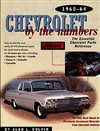1960 - 1964 Chevelle Chevrolet By The Numbers, 282 Pages, Paperback.  The Essential Chevrolet Parts Reference