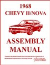 1968 Nova Chevy II Factory Instruction Assembly Manual