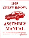 1969 Nova Chevy II Factory Assembly Manuals.   A reprint of the actual factory instruction manual, Each