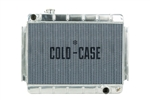 1966 - 1967 Chevelle COLD-CASE Aluminum Radiator for Automatic Trans