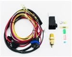 Chevelle and Nova COLD-CASE Electric Fan Relay, Thermoswitch Sensor and Wiring Kit