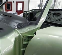"RH 68-72 A Body INTERIOR Windshield /"" A /"" Pillar Metal Trim Panel"