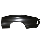 1970 - 1972 Chevelle Rear Quarter Panel Skin, Left Hand