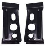 1967 Chevelle Rear Body Tail Light Panel Support Braces, Pair