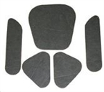 1967 Chevelle Hood Insulation Pads Set