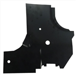 1966 - 1967 Chevelle Cowl Side Panel, Lower Reinforcement, RH