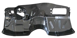 1964 - 1967 Chevelle Complete Lower Firewall Panel