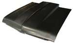 1968 - 1972 Nova Steel Cowl Induction Hood, 2 Inch Rise