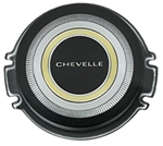 1966 Chevelle Horn Cap Insert Button Only, Standard