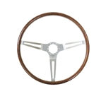 1969 - 1970 Nova Steering Wheel, Rosewood Woodgrain