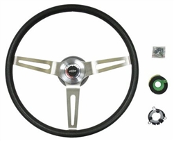1966 - 1972 Chevelle NK1 Large Comfort Grip Steering Wheel Kit, Black