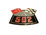 502 Cross Flags Air Cleaner Decal