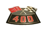 Air Cleaner Decal, 400 Cross Flags