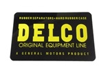 Delco Original Equipment Line Battery Decal