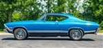 1968 Chevelle SS Decal Stripe Set, Super Sport