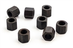 1968 - 1979 Rear End U-Bolt Nuts Set, Nuts Only, Economical, 8 Pieces