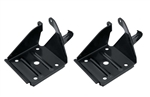 1968 - 1972 Nova Rear Mono Leaf Shock Plate Set, PAIR