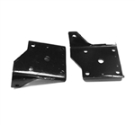 1968 - 1972 Nova Rear Multi Leaf Spring Lower Shock Mounting Plate, Each