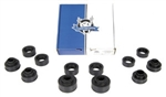 1968 - 1972 NEW GM Licensed Subframe Body Mount and Rad Support Bushings Set, 12 Pieces