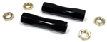 1971 - 1972 Chevelle Detroit Speed Billet Tie Rod Adjuster Sleeves, Black