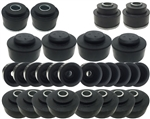 1968 - 1972 Chevelle Body to Frame Bushing Set, Convertible