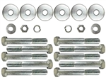 1968 - 1972 Chevelle Coupe Body Mount Bolt Kit, Except Convertible