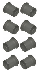 1966 - 1972 Chevelle Rear Axle Control Trailing Arm Bushing Set for Upper and Lower, 8 Piece Set