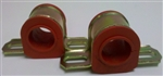 "1968 - 1974 Nova Front Sway Bar Bushing W/ Mounting Brackets 1-3/16"" ( POLY ) PAIR"