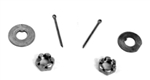 1966 - 1972 Chevelle / Nova Spindle Nut & Washer Kit