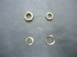 1968 - 1972 Nova Steering Coupler Shaft Stud Nuts and Washers