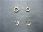 1967 - 1976 Chevelle Steering Rag Joint to Column Shaft Nut and Washers, Set