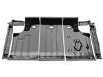 1964 - 1967 Chevelle Trunk Floor Panel Kit 7 Piece Set