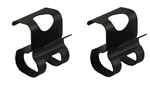 1968 - 1972 Chevelle Trunk Tail Light Panel Gutter Wire Harness Clips, Pair