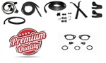 1966 Chevelle Rubber Weatherstrip Kit, 2 Door Hardtop Set