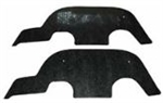 1966 Chevelle Inner Fender A Arm Flaps Seals, Pair