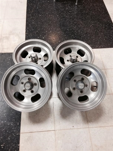 Mickey Thompson Wheels  Aluminum Slotted  Set Of 4  15 X 7  Used