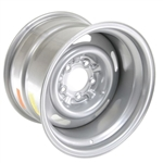 Correct Silver Painted Chevy Rally Wheel, 15 X 10