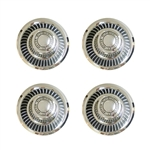 1968 - 1972 Nova Rally Wheel Center Cap Set of 4