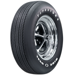 Firestone Wide Oval RADIAL with Raise White Letters, FR70-15