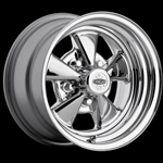 Classic Cragar S/S Chrome Plated Wheel 14 x 7 Uni-Lug