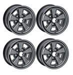 1971 - 1974 Chevelle 5 Spoke Wheel Kit - Set of 4, New