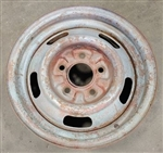 1967 Chevelle 14 X 6 DG Coded Chevy Rally Wheel Rim, Each