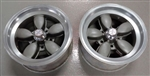 American Racing Wheels, Daisey 200 S Coke Bottles, 15 X 7 Vintage Used Pair