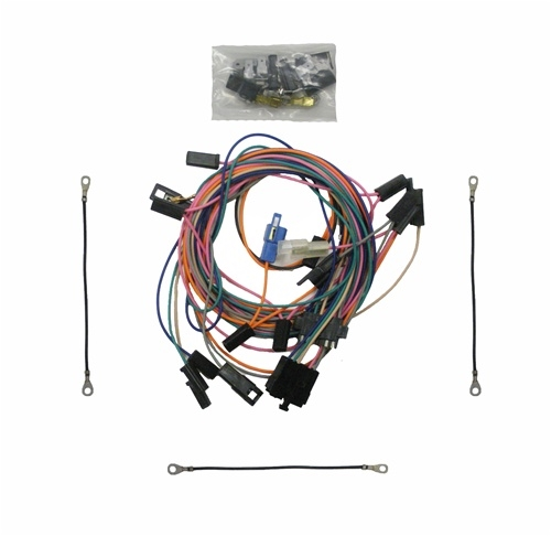 1972 nova wire harness 1968 1972 nova console wire harness  with custom autometer gauge  1968 1972 nova console wire harness