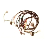 1967 Chevelle Front Headlight Wiring Harness, With Warning Lights