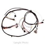 1969 Chevelle Front Headlight Wiring Harness, V8 With Warning Lights - Altpi